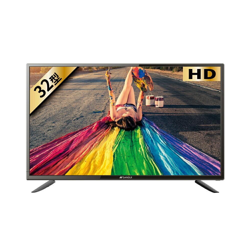 滿2000賺10%再折350元★SANSUI山水【SLED-3233】32吋LED多媒體液晶顯示器電視