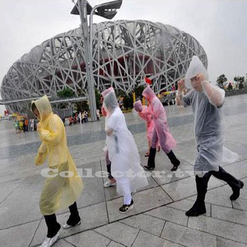 戶外旅行旅遊一次性雨衣 便攜式透明雨衣 拋棄式雨衣 男女適用