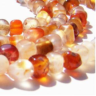 [天然紅瑪瑙]天然寶石 4mm圓形珠 diy飾品散珠 1