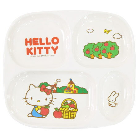 HELLO KITTY 四格盤 KT56211 NITORI宜得利家居