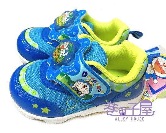 【巷子屋】哆啦A夢 男童星星造型電燈運動休閒鞋 [41316] 藍 MIT台灣製造 超值價$198