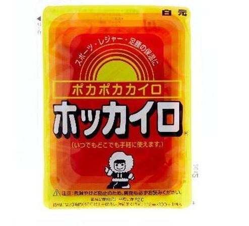 【買10送1】白元  愛斯基摩足腰兩用 暖暖包(單片入)  ☆真愛香水★