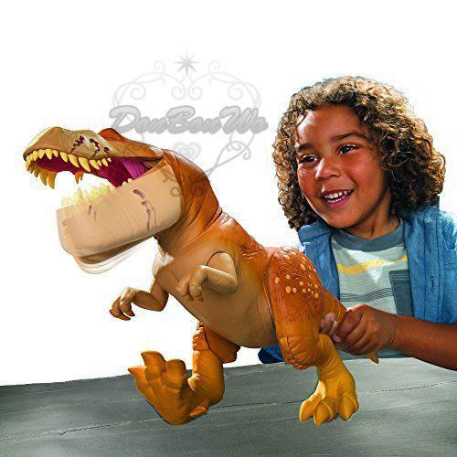 迪士尼恐龍當家遙控玩具模型公仔暴龍621029海渡