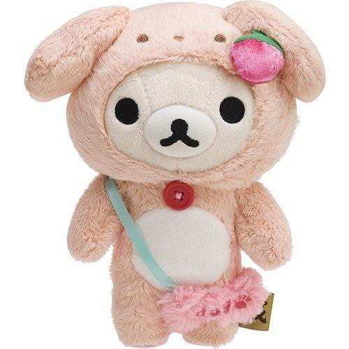 【真愛日本】17122100025戌2018狗年限定娃-奶熊SAN-X懶熊拉拉熊奶熊2018限定娃布偶