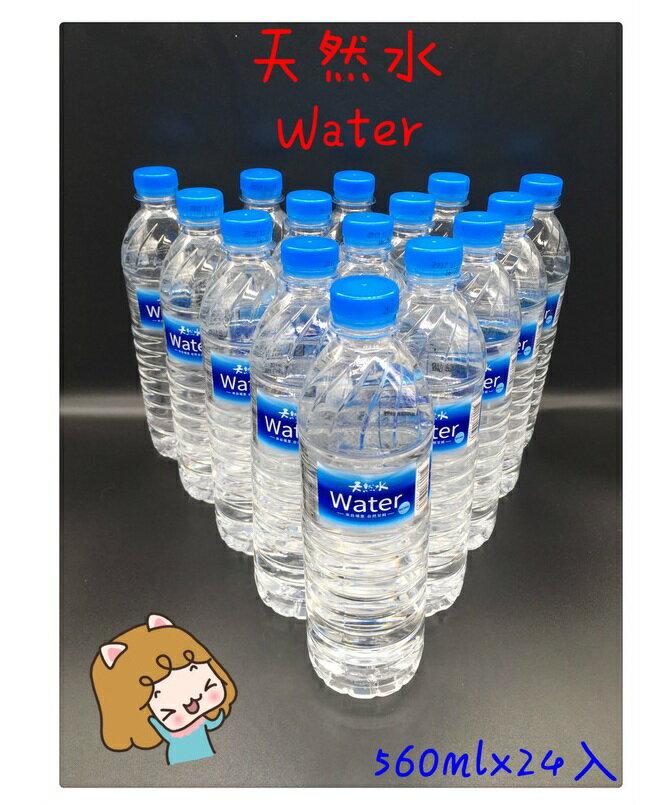 天然水560ml x 24入 礦泉水 竹炭水 海洋鹼性離子水 多喝水 純水 悅氏