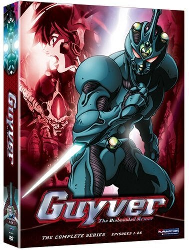 Guyver -The Bioboosted Armor: Complete Box Set 787544362b1d7570add219f9b68fab23