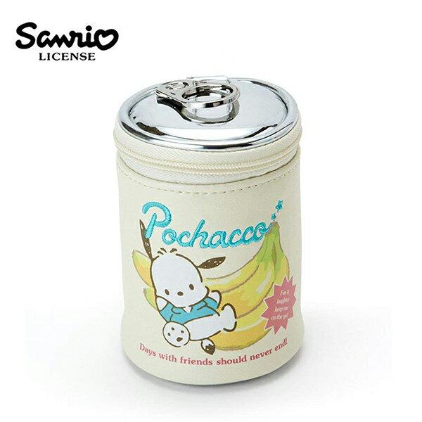 【日本正版】帕恰狗迷你罐型收納包吊飾小物收納POCHACCO三麗鷗Sanrio-422540