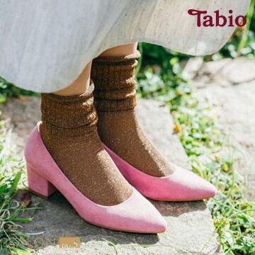 【靴下屋Tabio】鬆軟光澤感短襪日本職人手做
