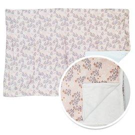 【淘氣寶寶】韓國ORGANICFACTORY棉柔毯-粉色小花【保證公司貨】