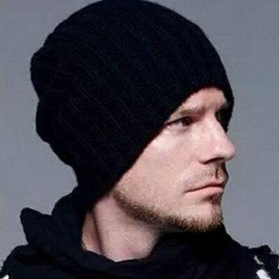 針織毛帽男女帽子~ 素面 男女 7色73if2~ ~~米蘭 ~