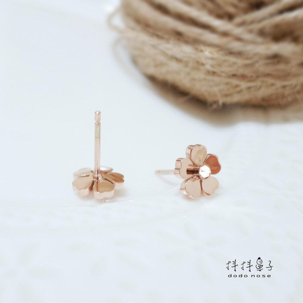 山茶花不鏽鋼耳環 2