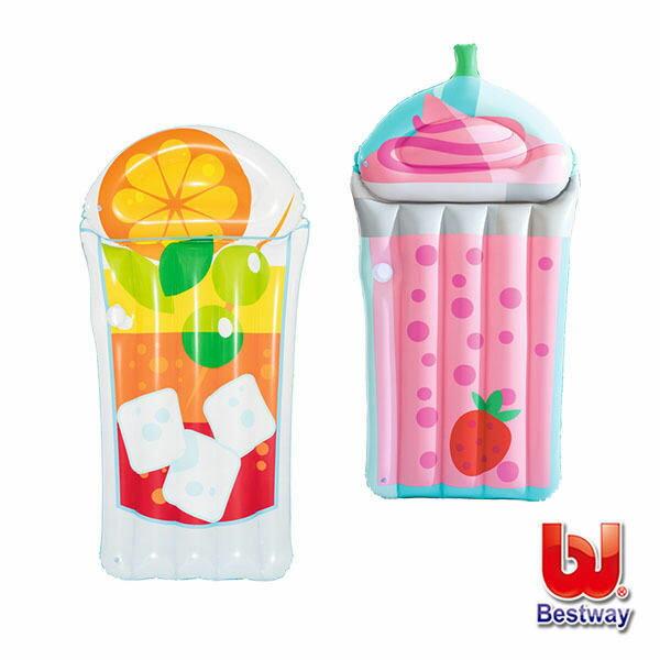 《Bestway》熱帶飲品造型浮排(款式隨機出貨)44037
