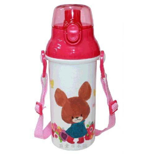 【百倉日本舖】日本製小熊學校水壺480ml兒童水壺直飲式水壺