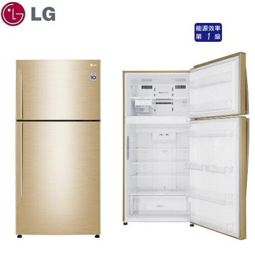可申請退稅補助【LG】496L 直驅變頻上下門冰箱《GN-BL497GV》光燦金 壓縮機十年保固(含拆箱定位)
