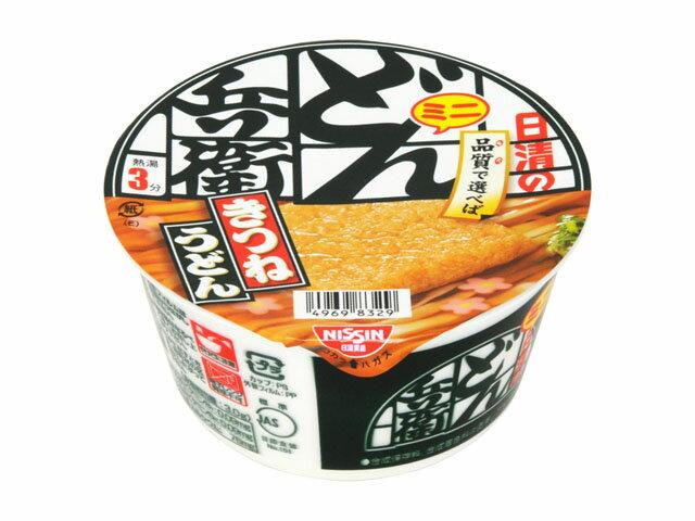 有樂町進口食品 新貨 日清 迷你兵衛油豆腐碗麵東日本(42g/碗) J46 49698329