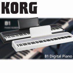 【非凡樂器】KORG B1 Digital Piano 電鋼琴 白色 (無琴架) 贈送實用好禮 !