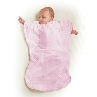 美國Summer Infant 蝴蝶背心睡袋-粉紅點點(加大)