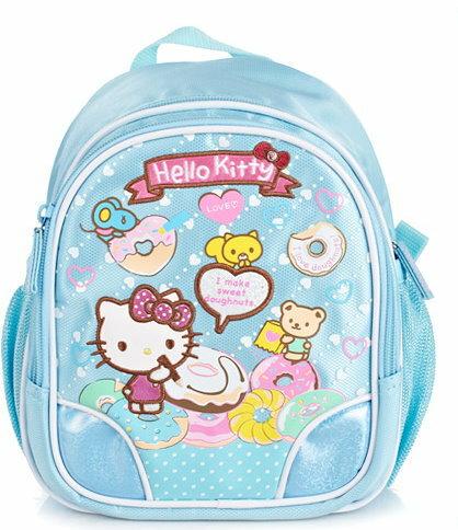 正版 Hello Kitty  凱蒂貓 兒童書包 幼兒園後背包適合1-3歲-650140