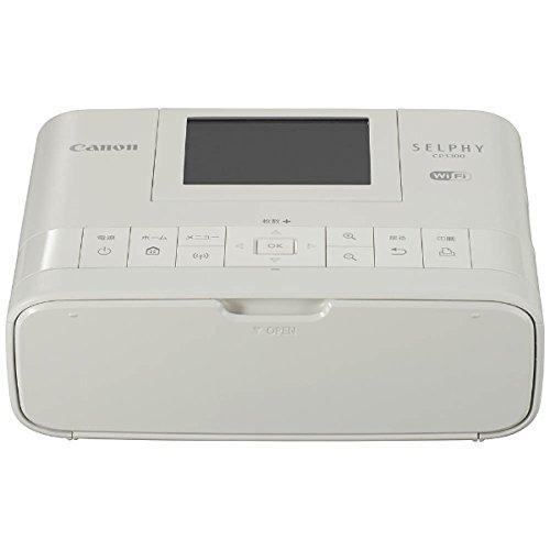 日本Canon/Selphy300 CP1300無線相片印表機。共1色-日本必買 日本樂天代購(11820*1.7)
