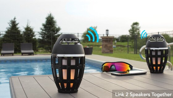 Wireless LED Flame Speaker 3