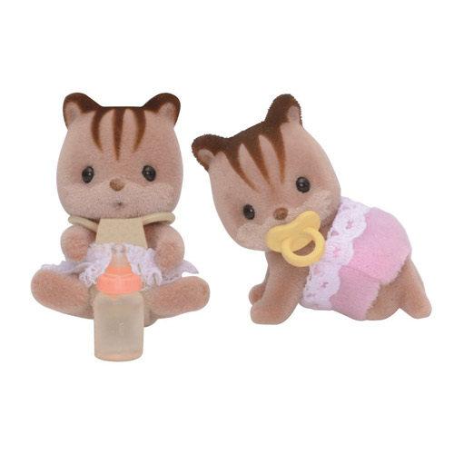 《森林家族-日版》紅松鼠雙胞胎
