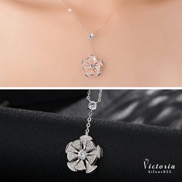 Victoria:S925銀品味、氣質、時尚項鍊-維多利亞160919