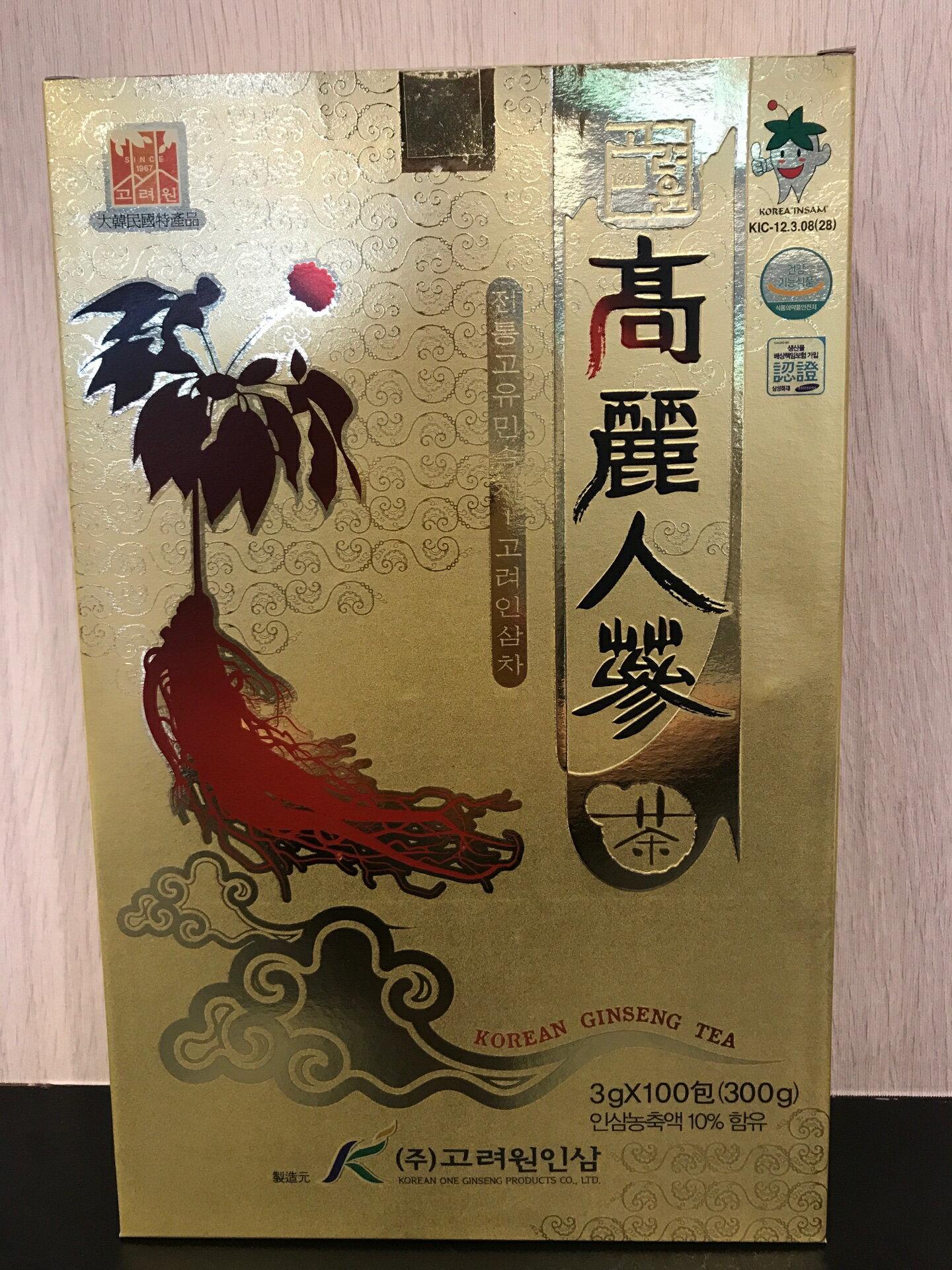 韓國 頂級 高麗人蔘茶粉 300g