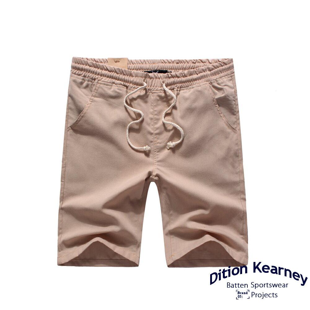 DITION SHOP  無印職人涼感棉抽繩螺紋短褲 膝上 3