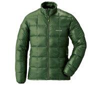 保暖推薦男羽絨外套推薦到├登山樂┤日本 mont-bell Superior 男800羽絨夾克-卡綠 # 1101466KHGN就在登山樂推薦保暖推薦男羽絨外套
