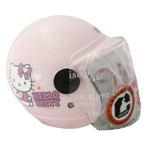 授權卡通童帽 Hello Kitty 兒童安全帽 (尺寸:50~54cm / 54~57cm)【上禾益百貨】