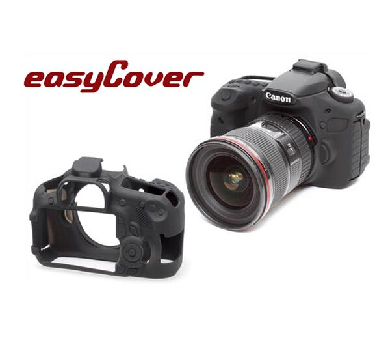 ◎相機專家◎easyCover金鐘套Canon60D機身適用果凍矽膠防塵保護套公司貨另有80D