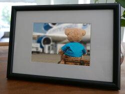 聚鯨Cetacea﹡Art【KLFZ-1019】journey旅程/toy玩具/airplane飛機 畫框相框