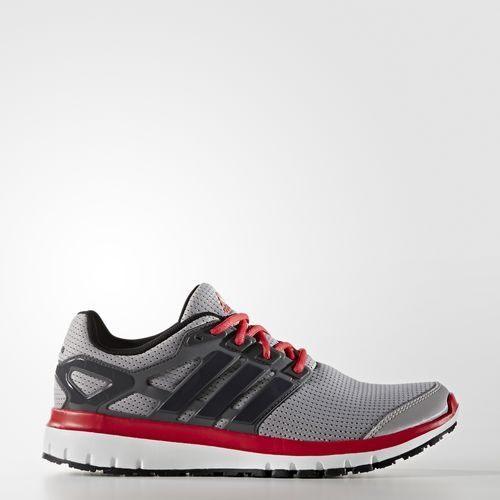 ADIDAS ENERGY CLOUD M 男鞋 慢跑鞋 輕量 訓練 網布 灰 黑 紅 【運動世界】 BB4113