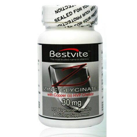 【小資屋】美國BestVite 必賜力高效能鋅膠囊1瓶 (120顆)效期:2019.3