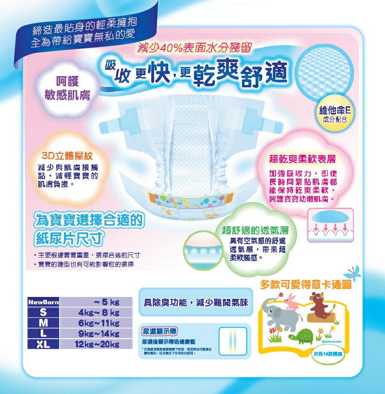 『121婦嬰用品館』大王 境內版尿布 L (54片*4包/箱) 2