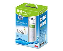 3M DS02淨水器+配件包 Filtrete 極淨便捷系列(7000011961)適合租屋族無法鑽孔環境及上班族