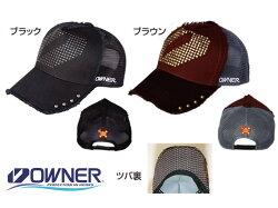 OWNER 龐克休閒網帽,大方的鉚釘排列,霸氣率性,麻布織休閒狂野,隨性新潮,龐克別緻(黑)
