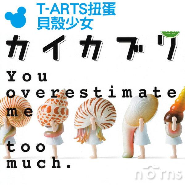 NORNS【T-ARTS扭蛋貝殼少女】附底座貝類女孩古怪可愛詭異獵奇熊貓之穴轉蛋創意療癒擺飾