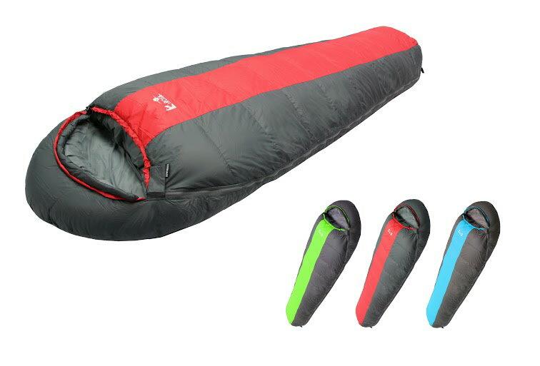 【【蘋果戶外】】 Lirosa AS800A 『送睡袋內套』吉諾佳 超保暖型羽絨睡袋 800g