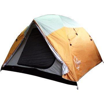 【Outdoorbase】桔野 4人~6人家庭豪華延伸帳篷 4人 5人 帳篷 露營 6人帳