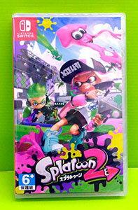 [現金價] (公司貨)NS 任天堂 Nintendo Switch 漆彈大作戰 2 日版