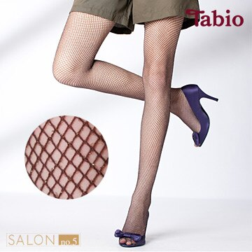 日本靴下屋Tabio 優雅細緻亮蔥網格絲襪  /  網襪 - 限時優惠好康折扣