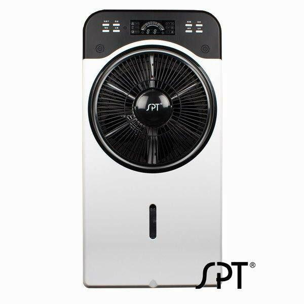 尚朋堂 多功能 彩頻 水霧扇 SPY-881M ◆可單獨加濕改善空氣 ◆360度導流風扇,使循環更好 ◆8小時定時設計