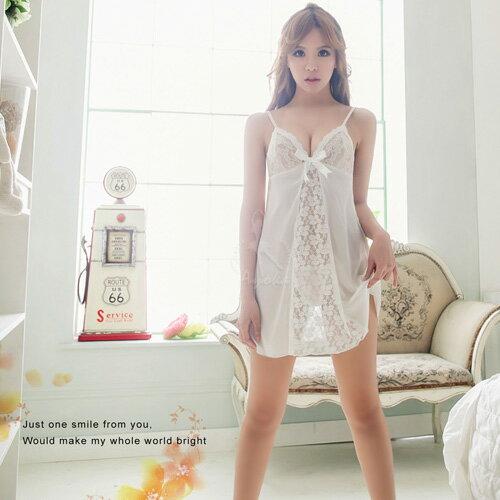 睡衣^~柔緞蕾絲二件式睡衣 休閒內衣 居家服內睡衣~SV6188~快樂 網