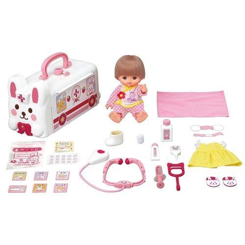 【 小美樂娃娃 】兔子救護車豪華組(附短髮小美樂)