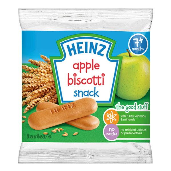 ★衛立兒生活館★美國 Heinz亨氏 蘋果手指餅60g
