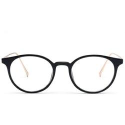 ★眼鏡框圓框眼鏡鏡架-時尚簡約百搭流行男女平光眼鏡4色73oe70【獨家進口】【米蘭精品】