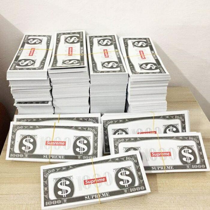 [Hare.D] 玩具鈔票 噴錢吐錢玩具槍 撒錢搶 吐射撒錢鈔票槍Supreme 美金 撒錢手槍 小費 夜店 派對