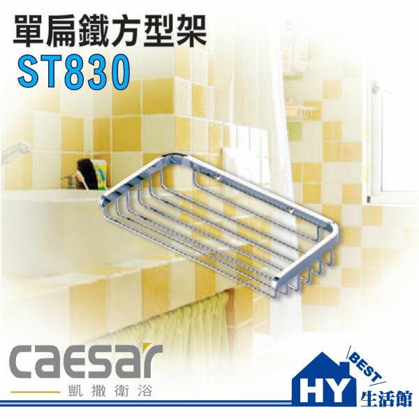Caesar 凱撒衛浴網路經銷商 ST830 單扁鐵方型架 置物架