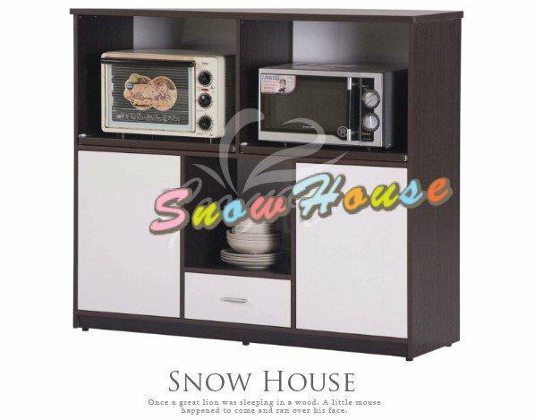 ╭☆雪之屋居家生活館☆╯AA540-13-14-15 E-012塑鋼微波爐架/置物櫃/收納櫃(附左右各1片隔板)